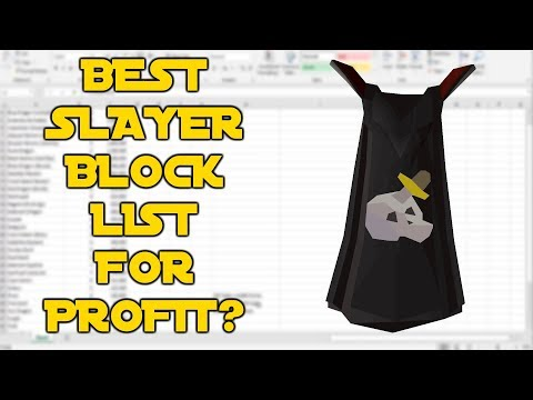 What To Block and Skip For PROFIT With SLAYER