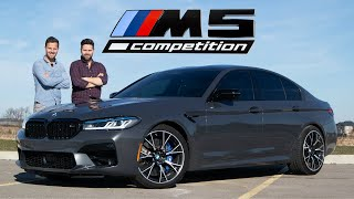 2021 BMW M5 Competition LCI Review // $120,000 Monster In A Suit