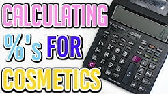 HOW TO CALCULATE PERCENTS - COSMETIC FORMULAS   TaraLee