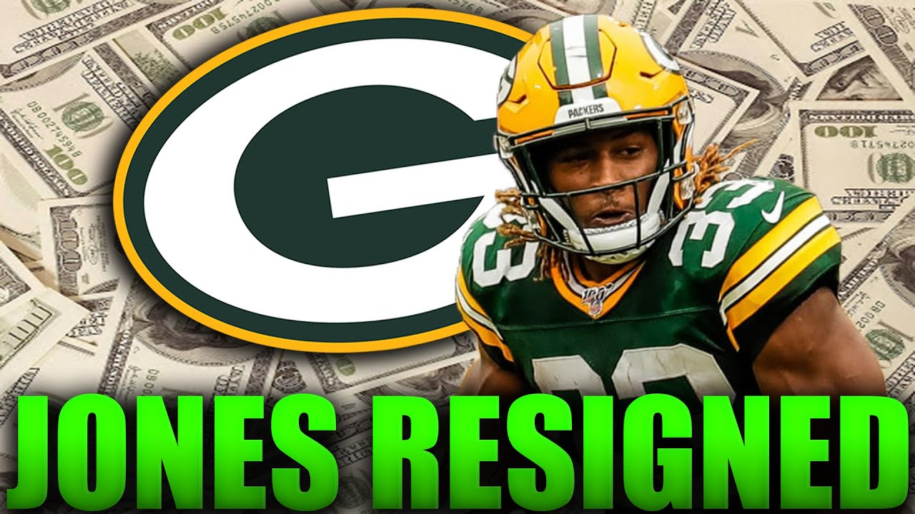 Aaron Jones Resigns With The Green Bay Packers For 48 Million! Packers Fan Reaction - YouTube