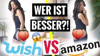 WISH VS AMAZON | Gleiche Produkte bestellt, wer ist besser & günstiger?! |Live HAUL Produkt Test
