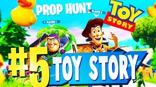 TOP 5 BEST PROP HUNT TOY STORY Creative Maps In Fortnite ( Fortnite Toy Story Map CODES (NOUVEAU CODES)