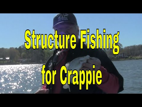 Structure Fishing for Crappie on Highrock Lake, Tips for catching Crappie