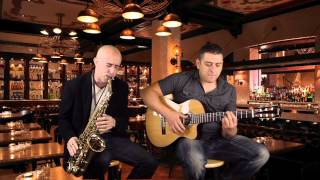 Just the two of us, sax and guitar, Neander Lima
