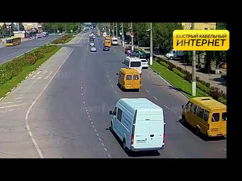 ДТП (авария г. Волжский) пл. Ленина вид на проспект 14-08-2019 12-00