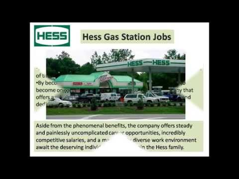 Hess Gas Station Jobs