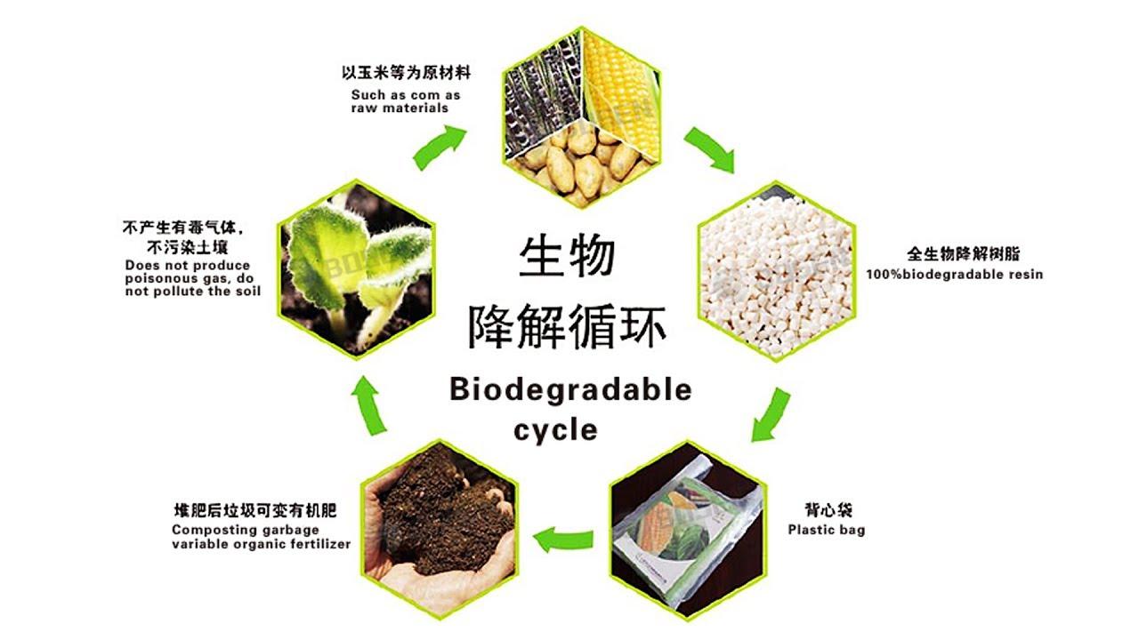 100%Biodegradable (Corn starch) Film Blowing Machine Will be Sent to Sri  Lanka
