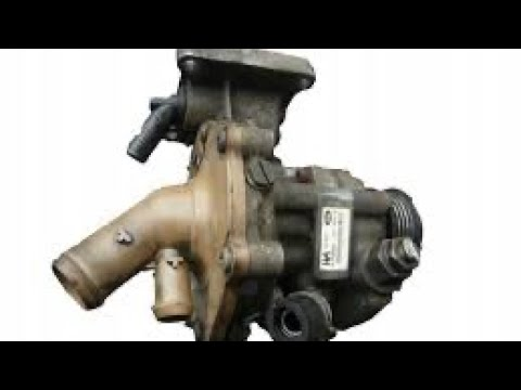 Как снять, поменять помпу, гидроусилитель ford mondeo 3 2.0 tdci