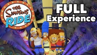 Simpsons Ride - Full Experience at Universal Studios Florida