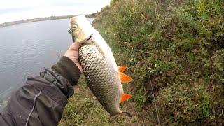 Трофейные голавль и жерех на тейлспиннер Осенняя рыбалка на реке Белой в Башкирии