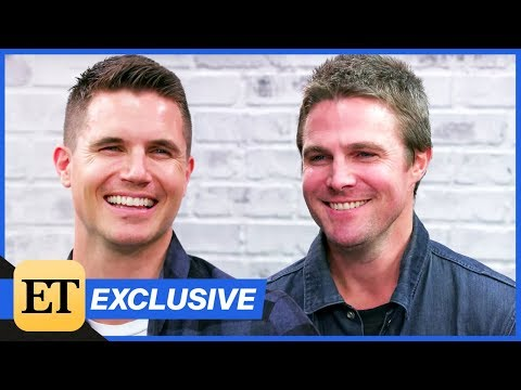 Stephen Amell and Robbie Amell  Each Other About Code 8 Being Cousins & More Exclusiv…
