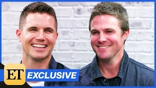 Stephen Amell and Robbie Amell Interview Each Other About Code 8, Being Cousins & More! (Exclusiv…