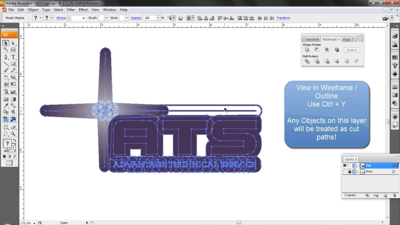 Creating Vector Cut Files in Adobe Illustrator