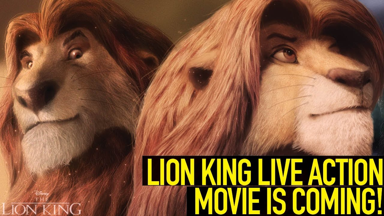 lion king live action movie is coming
