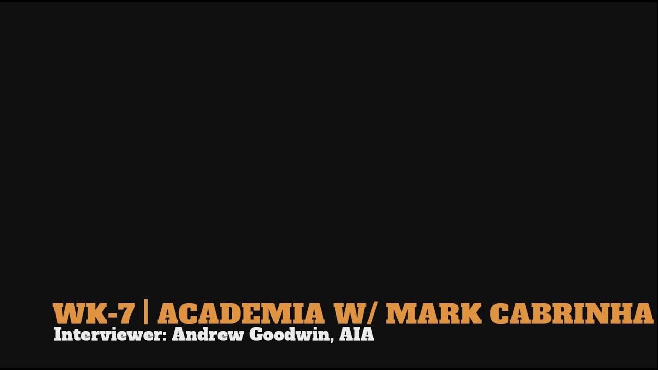Mark Cabrinha on Academia