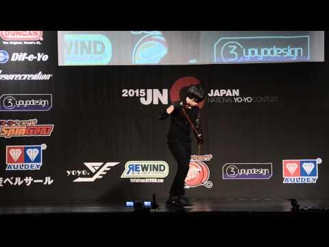 C3yoyodesign present JN 2015 5A Champion Hideo Ishida