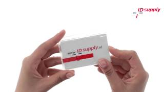 IDsupply: BADGE-GESLOTEN-007