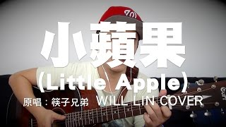 """小蘋果 (Little Apple)"" 筷子兄弟 [Will Lin Acoustic Cover]"