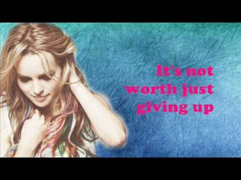 Hold On For Dear Love-Bridgit Mendler (Lyrics Video)
