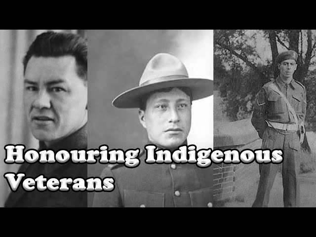 Honouring Indigenous Veterans / FIRST PEOPLES VOICES