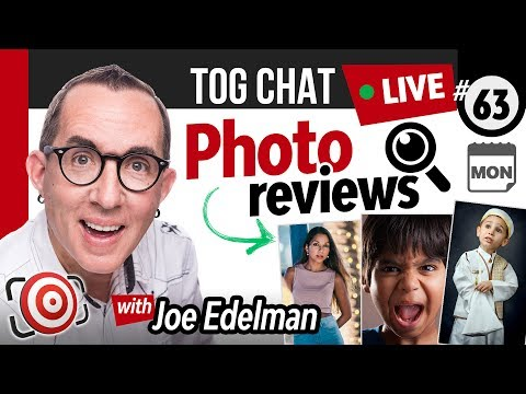 🔴 LIVE TogChat™ #63 - Is it possible to take a photo that requires no post production?