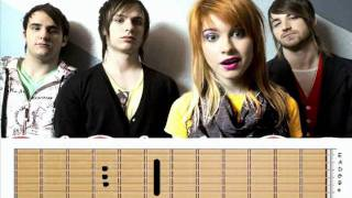 aprende a tocar the only exception- paramore by abdiel  .wmv