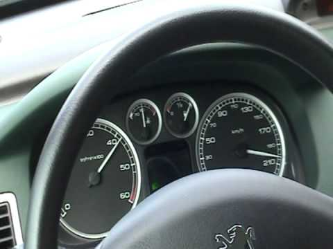 peugeot 307 sw 2 0 hdi 110 hp 200 km h youtube