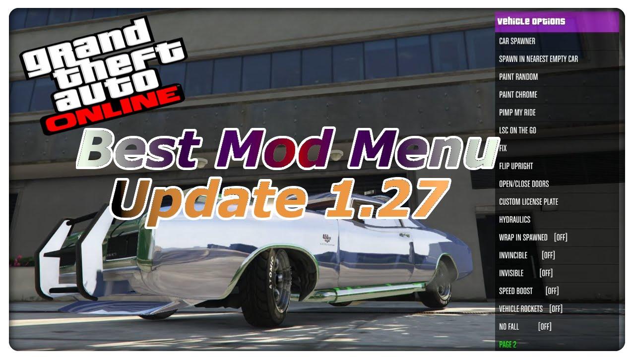 GTA 5 Online Mod Menu Update 129 installieren Deutsch