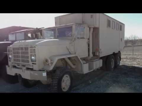 Turbo Diesel Trucks >> 1984 AM General M934A2 Expandable Van Cargo Truck on ...