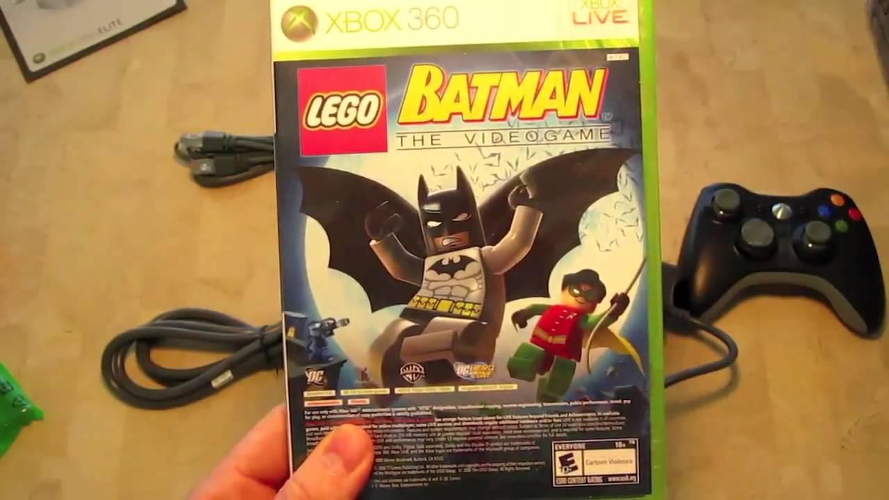 Xbox 360 Elite Unboxing 2009 Holiday Bundle - YouTube