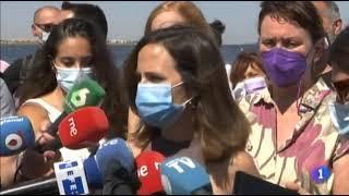 TVE - Visita de Ione Belarra al Mar Menor