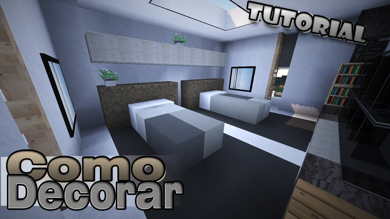 Minecraft como decorar una casa moderna rec maras for Como decorar tu casa