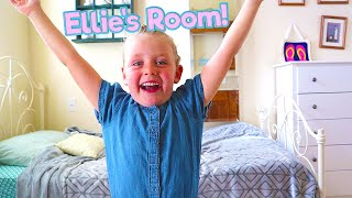 Ellie's Room is in the Laundry Room?! Mr. E Mansion Tour Episode 3/ The Beach House