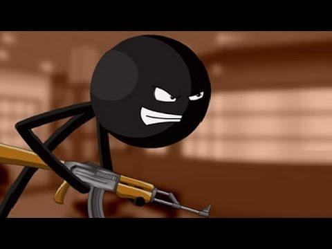 Слишком крутая игра !  Stickman and Gun часть 1