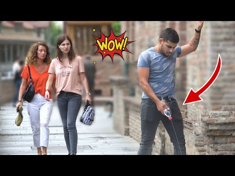 Peeing in Public Prank! #3  Best of Just For Laughs