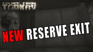 NEW RESERVE EXIT - D-2 Extract Reserve - Escape from Tarkov New Reserve Extract