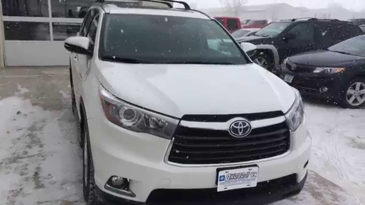 2015 toyota highlander hybrid limited platinum okoboji. Black Bedroom Furniture Sets. Home Design Ideas