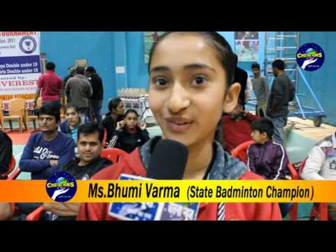 open state badminton championship (a report)
