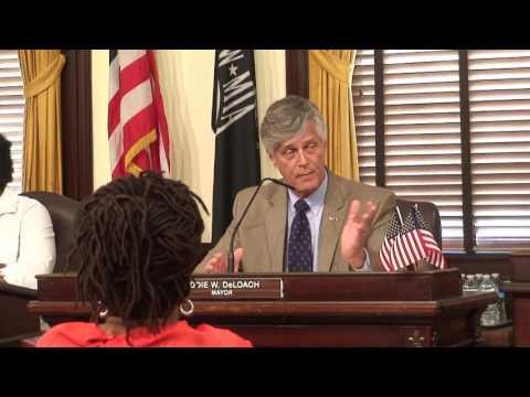 Full Savannah Special Council Meeting on alderman Tony Thomas 5/31/17