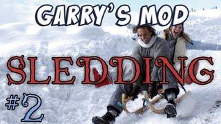 Garry's Mod - Sledding Part 2 - Santa's Sleigh