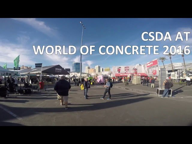CSDA at World of Concrete 2016