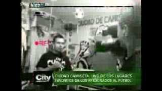 VIDEOGRAFIA CITY TV CIUDAD DE CAMISETAS