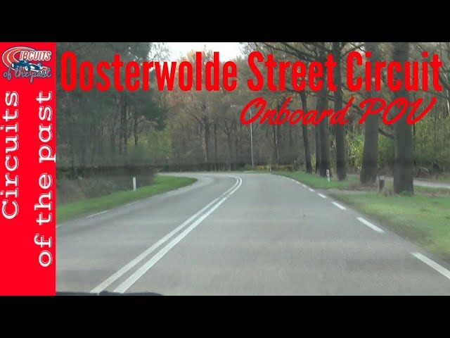 Street Circuit Oosterwolde Onboard POV with map