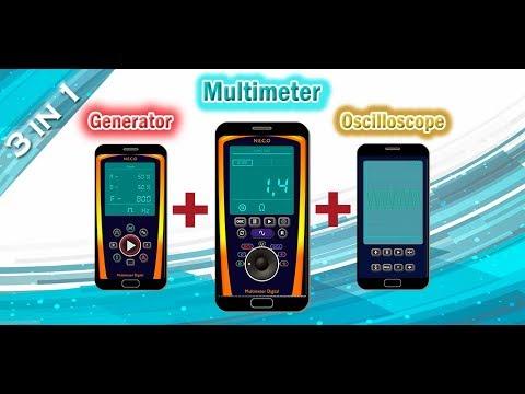 Arduino Digital Multimeter/Oscilloscope   N E C O