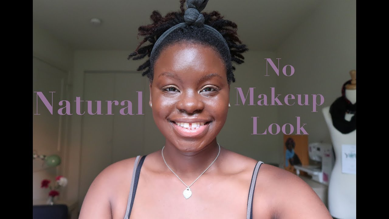 """Quick """"No Makeup"""" Makeup Look! 