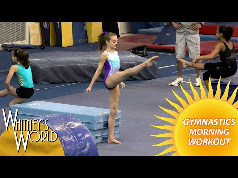 Gymnastics Morning Workout | Whitney Bjerken