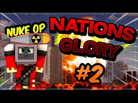 Attaque au MISSILE NUCLÉAIRE?! | Minecraft NationsGlory #2