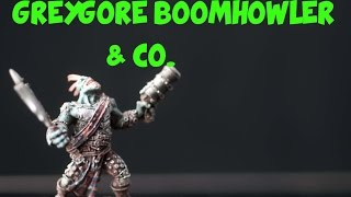 them Painted: Warmachine Greygore Boomhowler & Co