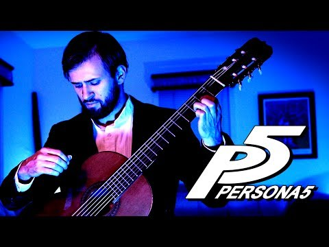 Persona 5 Guitar Cover - Velvet Room (Aria of the Soul)  - Sam Griffin