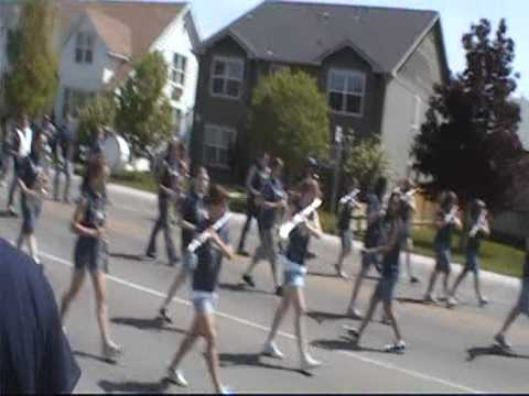 South Middle School Band, Parade America 2009
